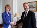 Новый посол Австрии вручил Зеркаль верительные грамоты