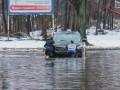 Киев затопило, автомобили