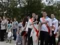 Выпускники в Ялте спели украинский гимн вместо российского (видео)
