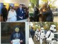 Казусы на выборах: задержание Чубакки, призывы Шрека, мужчина с топором и появление молодоженов