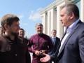 Аксенов вручил Кадырову медаль