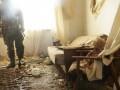 Журналисты засняли обстрел террористами поселка Пески