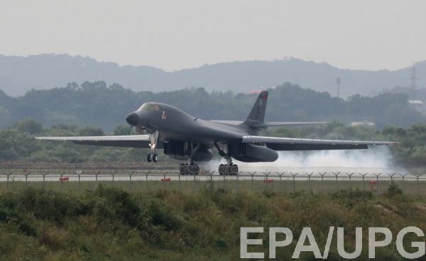 Сверхзвуковой стратегический бомбардировщик Rockwell B-1B Lancer