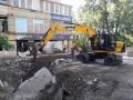 Прорыв трубы на Голосеевском проспекте будут ремонтировать сутки
