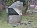 Вандалы разрушили памятник жертвам депортации в Алуште