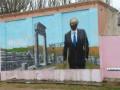 В Крыму снова испортили граффити с изображением Путина
