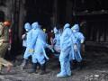 Девять человек погибли при пожаре в отеле-госпитале для больных Covid-19