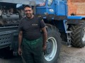 Трактористу за спасение 20 домов от пожара вручили медаль
