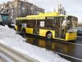 В Киев ограничат въезд грузовиков из-за снегопада