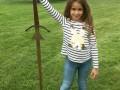 Девочка нашла в озере меч из легенды о короле Артуре