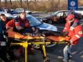 В Ровно пьяный водитель сбил патрульных