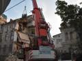 В Одессе разобрали завалы обрушившегося дома
