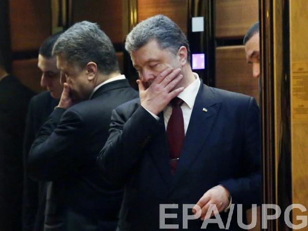 Путин, это негражданская вражда, это твоя агрессия вгосударстве Украина — Порошенко