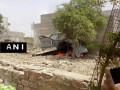 В Индии на жилые здания упал МиГ-27