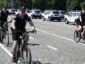 В Одессе вновь появились милиционеры в шортах и на велосипедах
