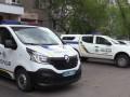 В Киеве неадекватный мужчина обстрелял патрульное авто полиции