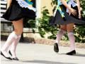 Последний звонок 2015: школьницы намокли и без фонтанов