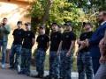 Освобожденные моряки дают пресс-конференцию в Киеве