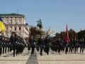 Пограничники провели в Киеве патриотический флешмоб