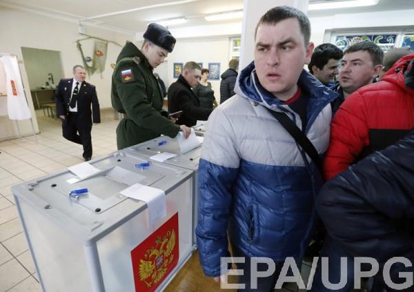 Лишь 34% крымчан были настроены на выборы