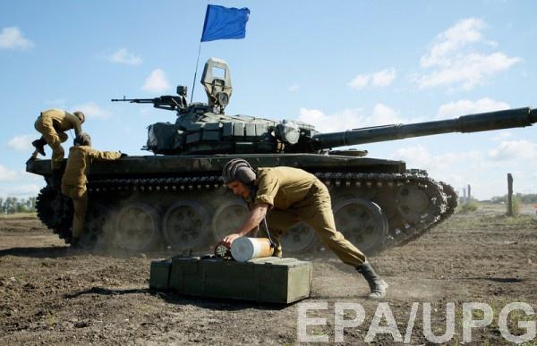 Боевики изартиллерии обстреляли Водяное