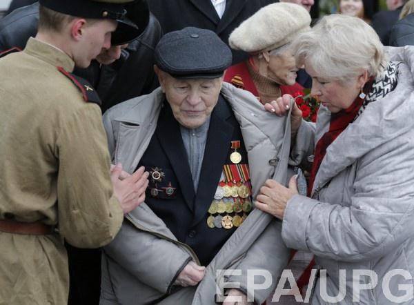 Ветераны получили квартиры от оккупационных властей