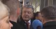"""""""Вы не полицейские и не украинцы"""": Порошенко гневно выступил в ГБР"""