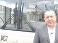 В Кропивницком обстреляли автобус