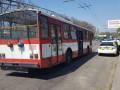 В Николаеве беременная девушка выпала из троллейбуса