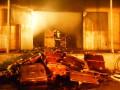 Масштабный пожар в Киеве: в Голосеево горели склады