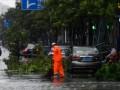 На побережье Китая обрушился мощный тайфун