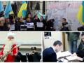 День в фото: Саакашвили в НАБУ, татары на митинге в Киеве и Дед Мороз с гитарой