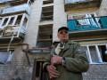 С утра в Донецке слышны залпы и взрывы