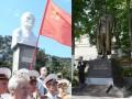 В Симеизе поставили памятник Ленину, а в Кирове - Дзержинскому