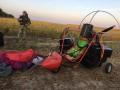 На Буковине пограничники задержали контрабандистов с мотодельтапланом