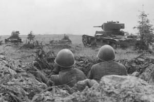 Части Красной армии старались при любом случае огрызаться, контратакуя врага