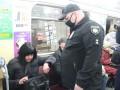 В Харькове полиция отлавливает пассажиров метро без масок