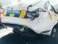 В Киеве нигериец без прав устроил ДТП с полицией