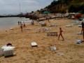 После гигантской волны с одесского пляжа госпитализированы шесть человек