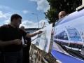 Гройсман показал железнодорожные пути в аэропорт Борисполь