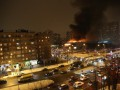 В Москве горит одна из самых крупных библиотек России