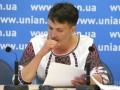 Савченко забрали в клинику на обследование - сестра нардепа