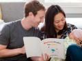 Цукерберг учит новорожденную дочь Макс квантовой физике