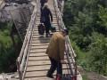 Боевики запретили ОБСЕ фотографировать на мосту в Станице Луганской