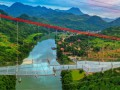 Самый длинный стеклянный мост открыли в Китае