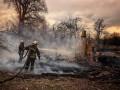 На Житомирщине эвакуировали жителей сгоревших сел