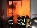 Сутки в огне: спасатели потушили склады на Красноткацкой