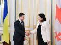Зеленский провел с президентом Грузии свои первые переговоры