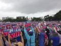 На Окинаве 70 тысяч протестовали против базы США