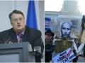 Итоги выходных: предотвращение покушения на Геращенко и протесты против Путина